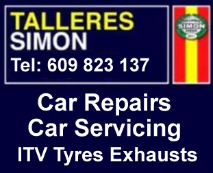 Car repairs & car servicing Malaga Spain
