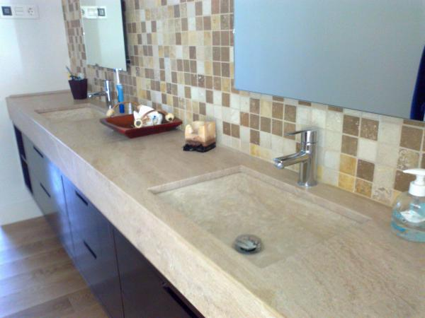 Marble bathroom floors tables Mijas