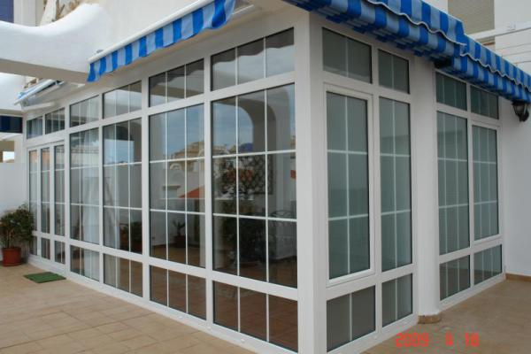 Aluminium Doors & glass curtains Malaga