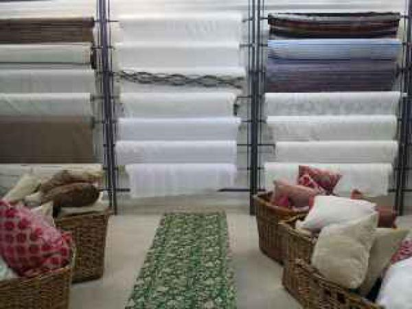 Fabric curtains Mijas Costa
