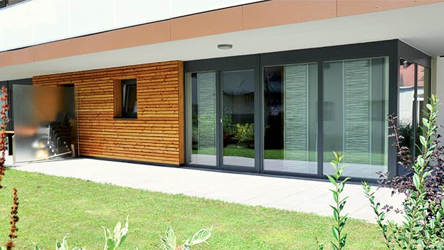PVC doors & glass curtains Marbella