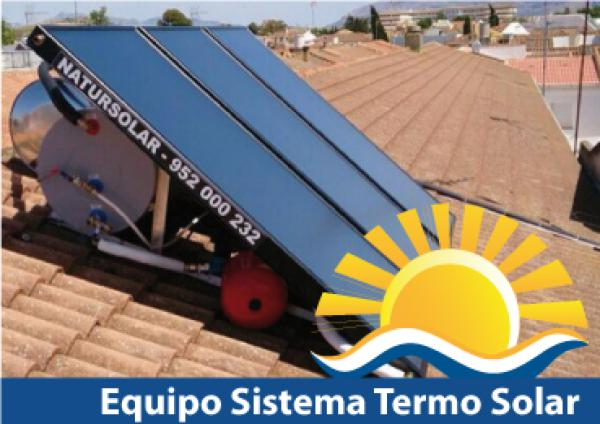 Solar panels thermal energy Malaga