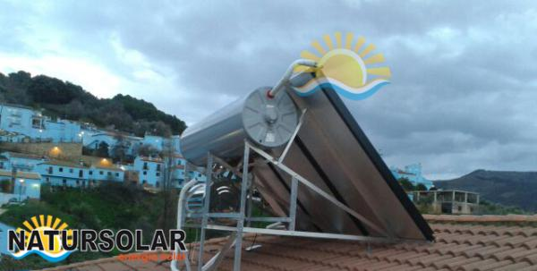Solar panels thermal energy Mijas Costa