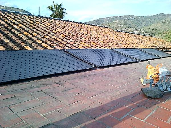 Solar thermal energy heating Nerja Torrox