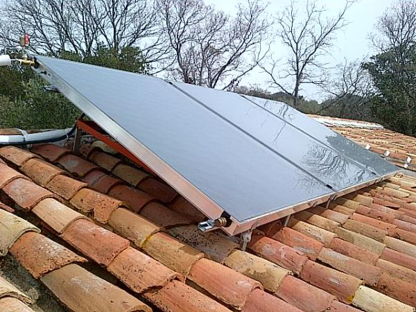 Solar thermal energy heating Rincon de la Victoria