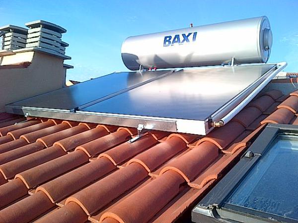 Solar thermal energy heating Puente Don Manuel