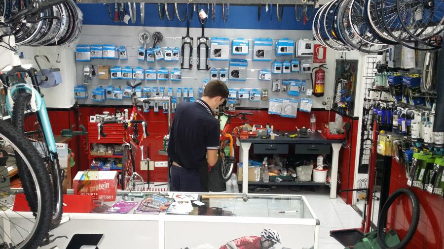 We repair your bikes here