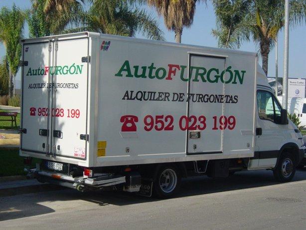 Van Hire Velez Malaga Torrox Rincon Malaga