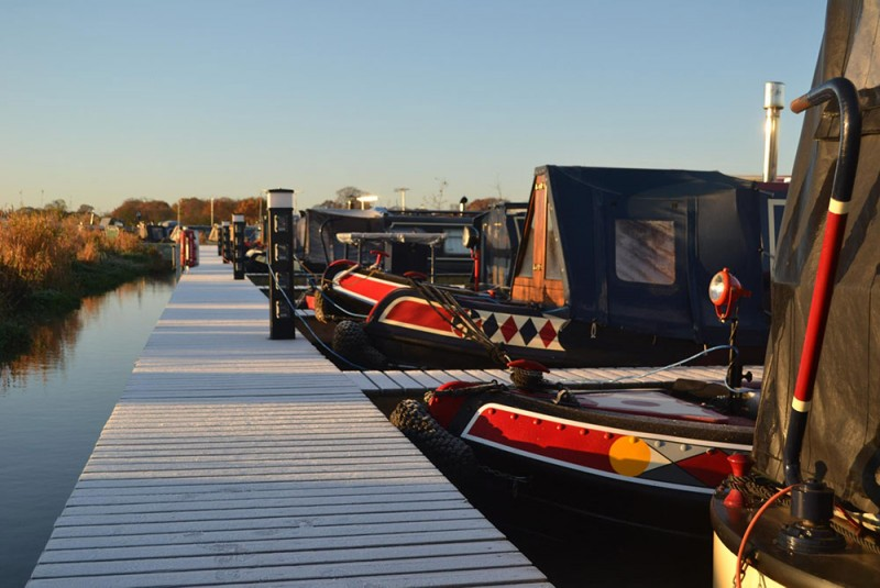 Canal Boat Moorings Northwich Cheshire