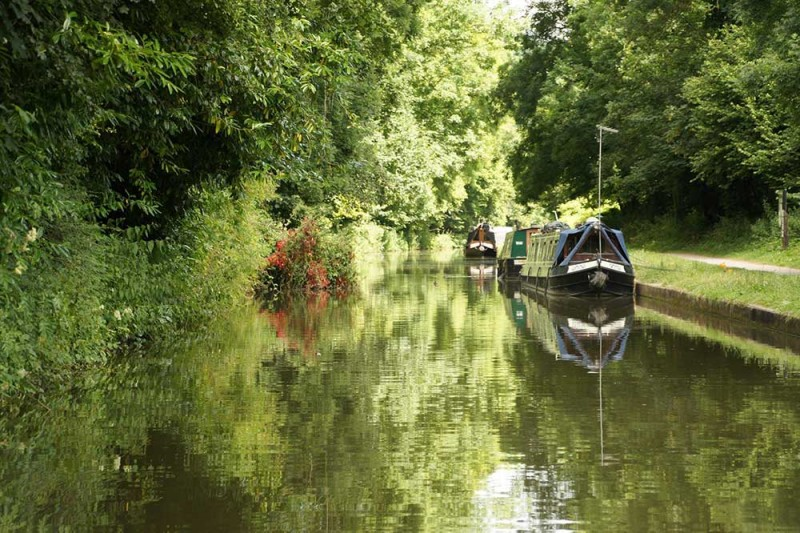 Canal Boat Moorings Northwich