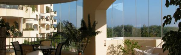 Glass Curtains terrace enclosures Marbella Malaga