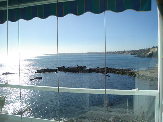 Glass curtains Fuengirola